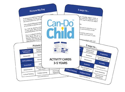 Can-Do Child™ Activity cards - age 3-5 years