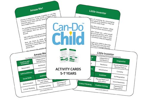Can-Do Child activity cards